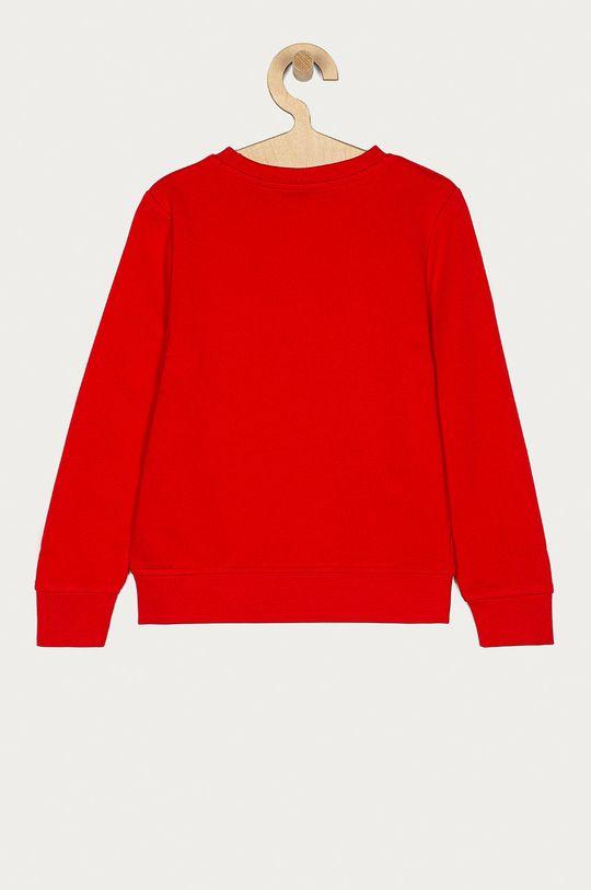 Boss - Bluza dziecięca czerwony