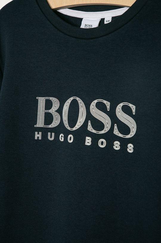 Boss - Detská mikina  87% Bavlna, 13% Polyester