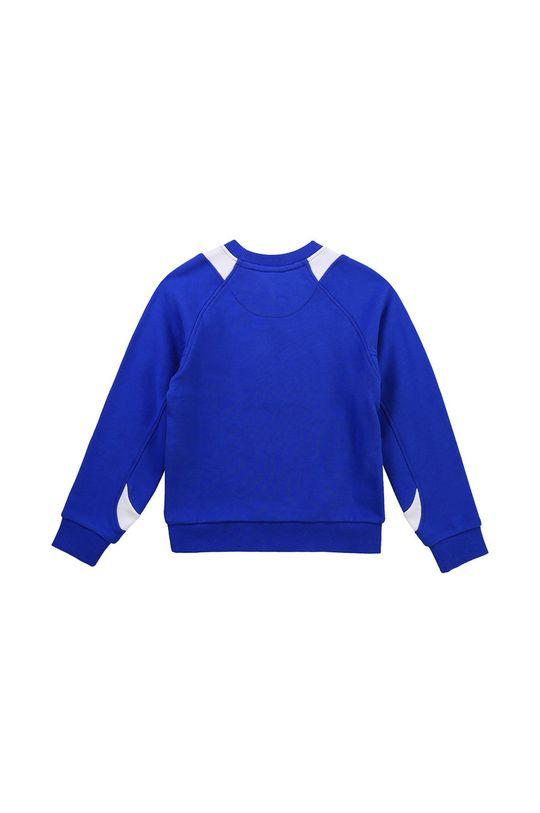 Dkny - Bluza bawełniana dziecięca 114-150 cm fioletowy