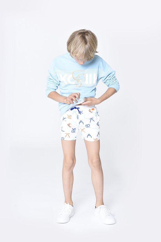 jasny niebieski Karl Lagerfeld - Bluza dziecięca Chłopięcy