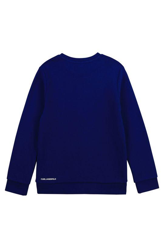 Karl Lagerfeld - Detská mikina modrá