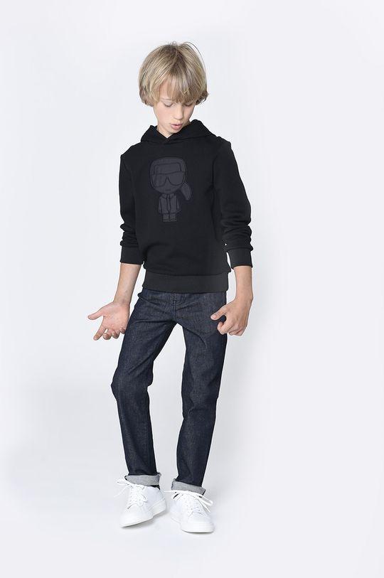 černá Karl Lagerfeld - Dětská mikina Chlapecký