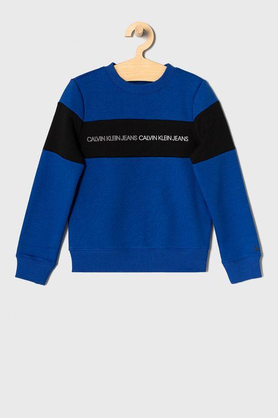 niebieski Calvin Klein Jeans - Bluza dziecięca 140-176 cm Chłopięcy
