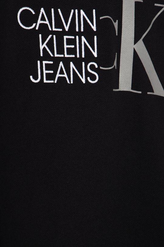 Calvin Klein Jeans - Dětská bavlněná mikina 128-176 cm černá