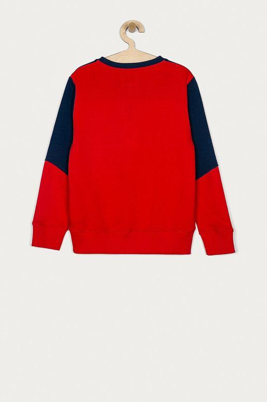 Pepe Jeans - Bluza bawełniana David 128-180 cm czerwony