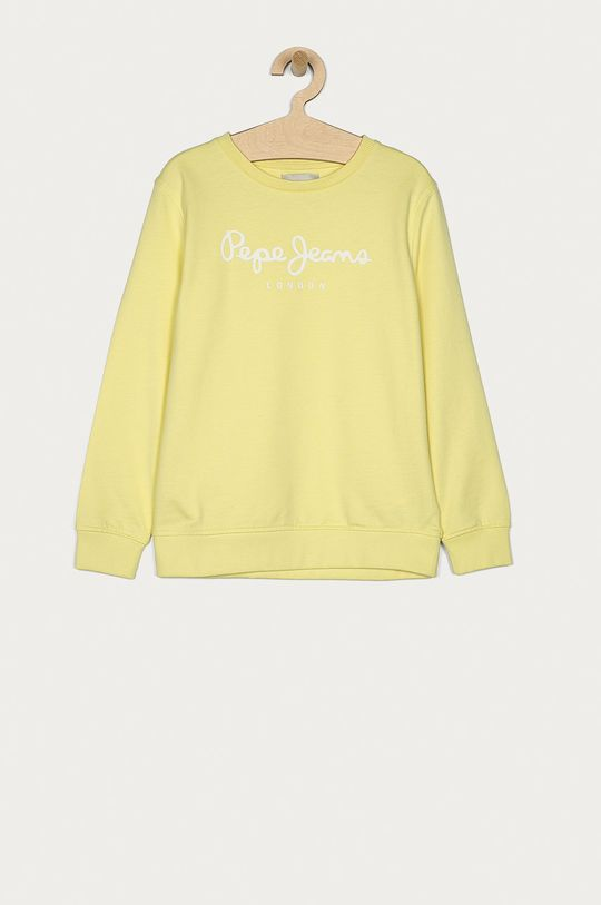 žlutá Pepe Jeans - Dětská bavlněná mikina Adam 128-180 cm Chlapecký