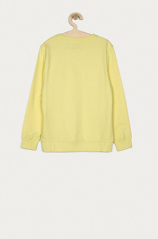 Pepe Jeans - Dětská bavlněná mikina Adam 128-180 cm žlutá