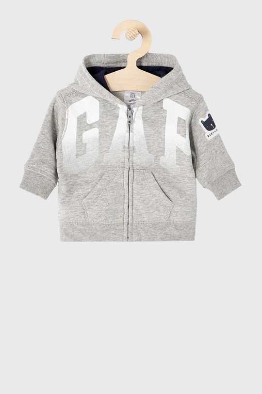 szary GAP - Bluza dziecięca 50-86 cm Chłopięcy