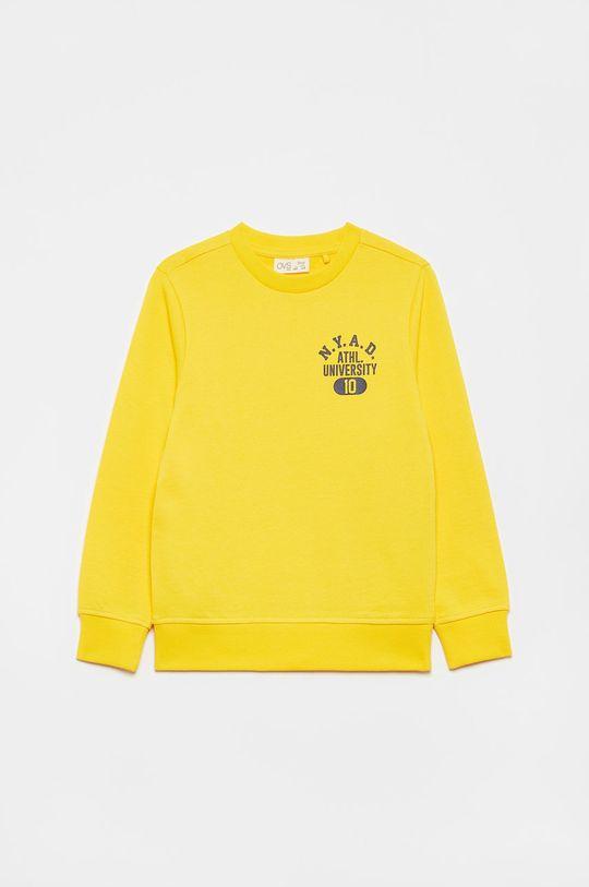 żółty OVS - Bluza dziecięca Chłopięcy