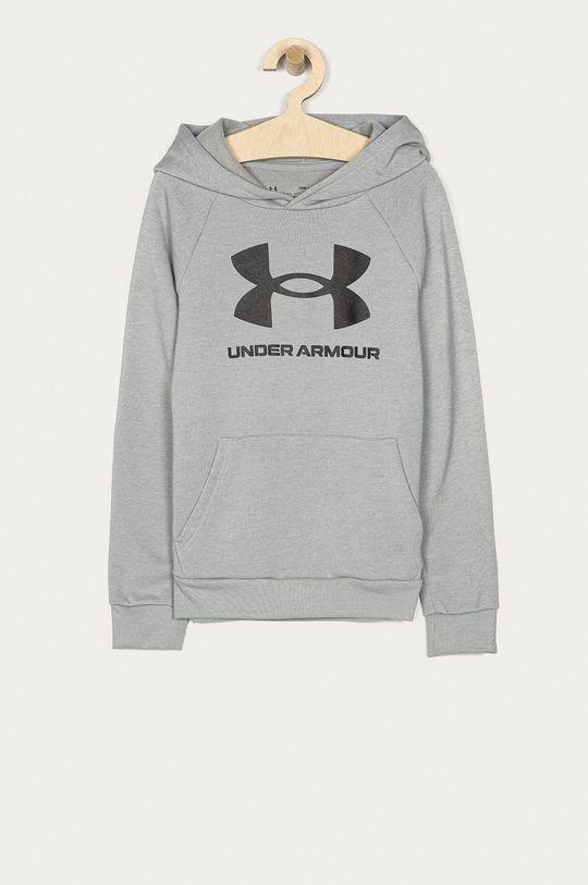 jasny szary Under Armour - Bluza dziecięca 122-170 cm Chłopięcy