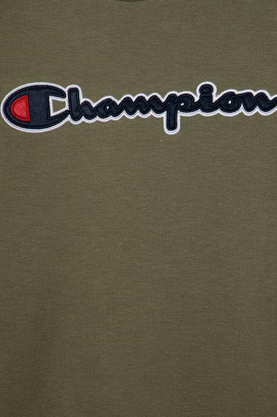 Champion - Detská mikina 102-179 cm hnedo zelená
