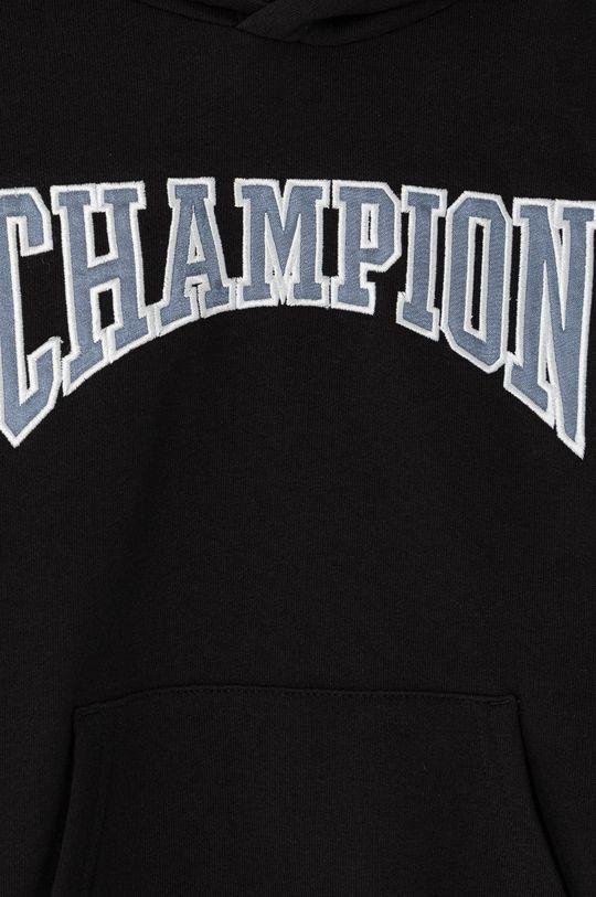 Champion - Dětská mikina 102-179 cm  Materiál č. 1: 79% Bavlna, 21% Polyester Materiál č. 2: 100% Bavlna Materiál č. 3: 98% Bavlna, 2% Elastan