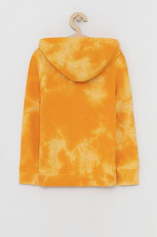 Champion - Bluza bawełniana dziecięca bursztynowy