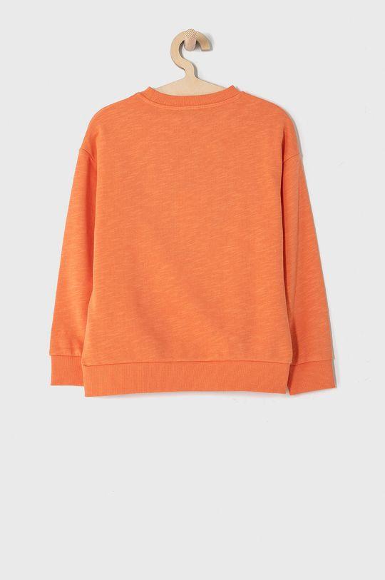 KENZO KIDS - Bluza bawełniana dziecięca 128-152 cm mandarynkowy