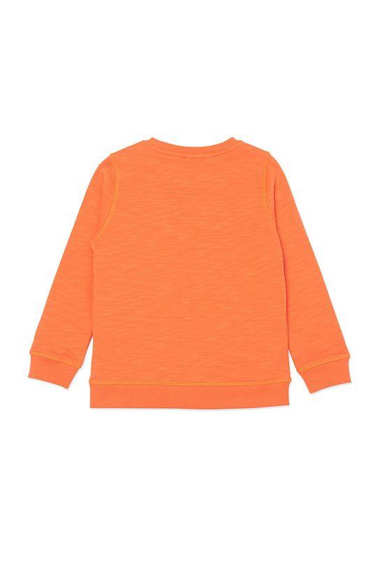 KENZO KIDS - Bluza dziecięca mandarynkowy