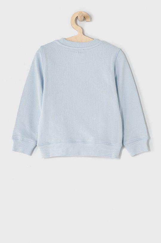 KENZO KIDS - Bluza 104-116 cm blady niebieski