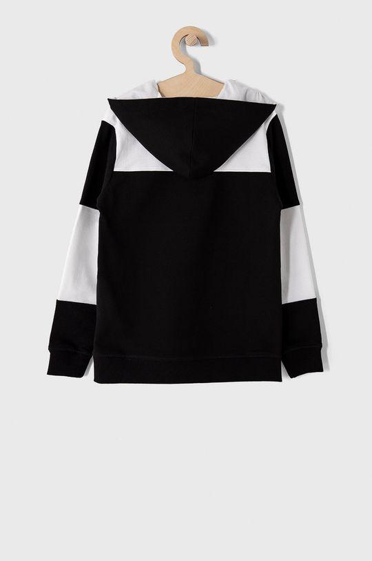 Guess - Bluza bawełniana dziecięca 116-175 cm czarny