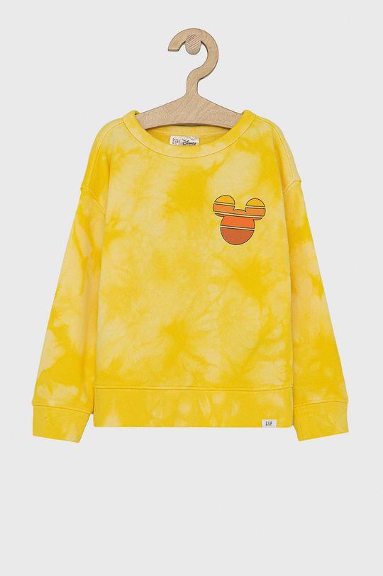 żółty GAP - Bluza dziecięca x Disney Chłopięcy
