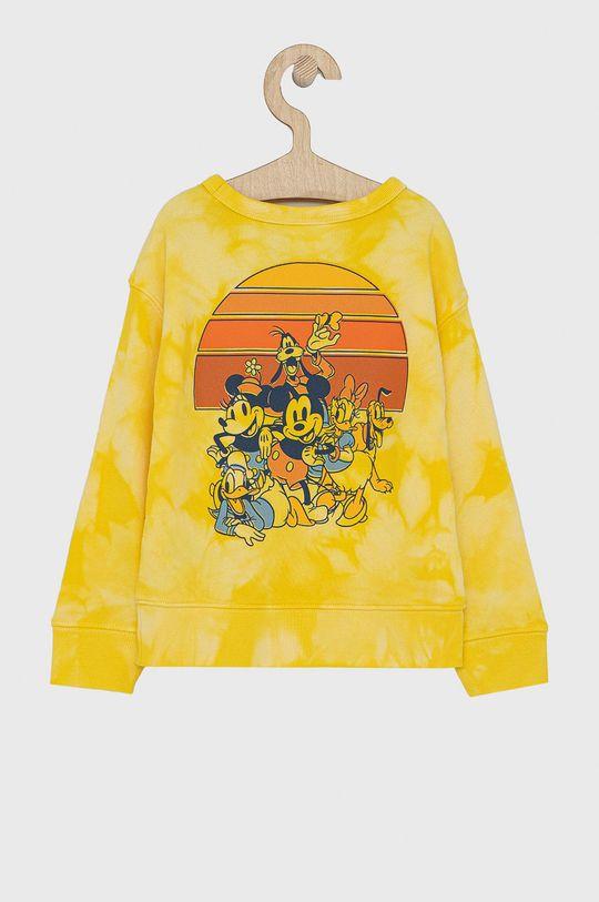 GAP - Bluza dziecięca x Disney żółty
