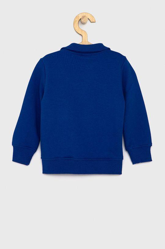 United Colors of Benetton - Dětská bavlněná mikina fialová