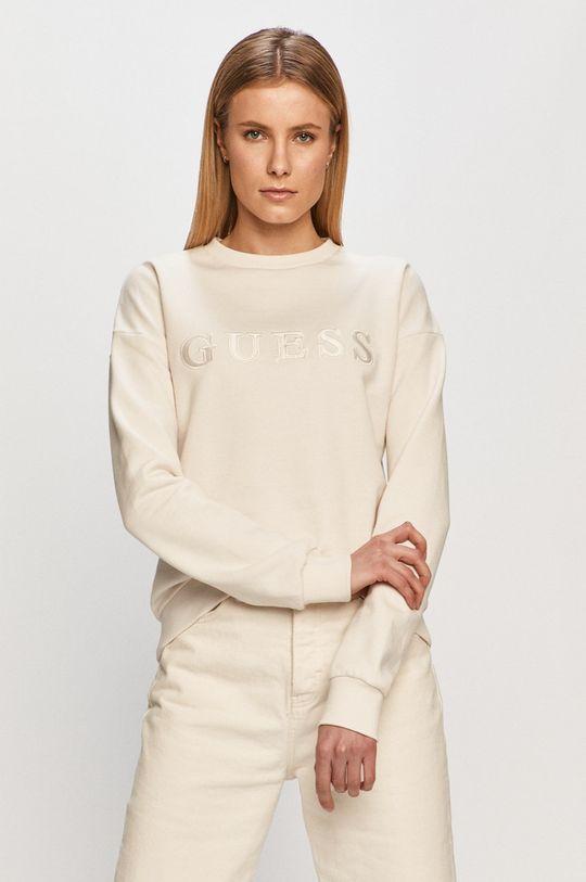 alb Guess - Bluza De femei