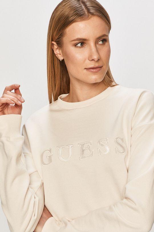 alb Guess - Bluza