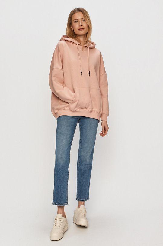 Only - Bluza różowy