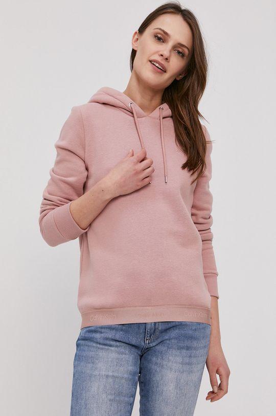růžová Calvin Klein - Mikina Dámský