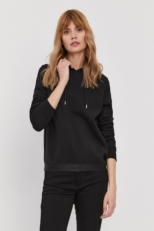 čierna Calvin Klein - Mikina Dámsky