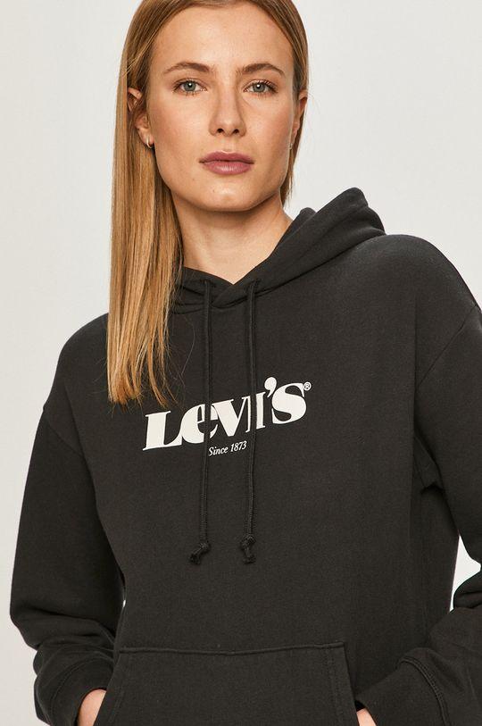 čierna Levi's - Bavlnená mikina