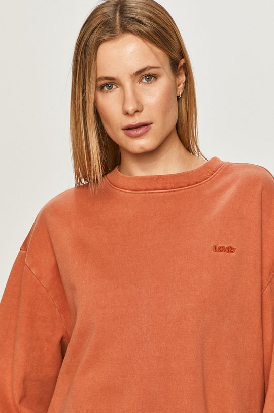 miedziany Levi's - Bluza bawełniana