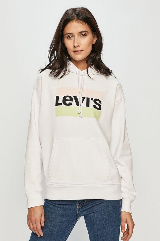 biela Levi's - Bavlnená mikina