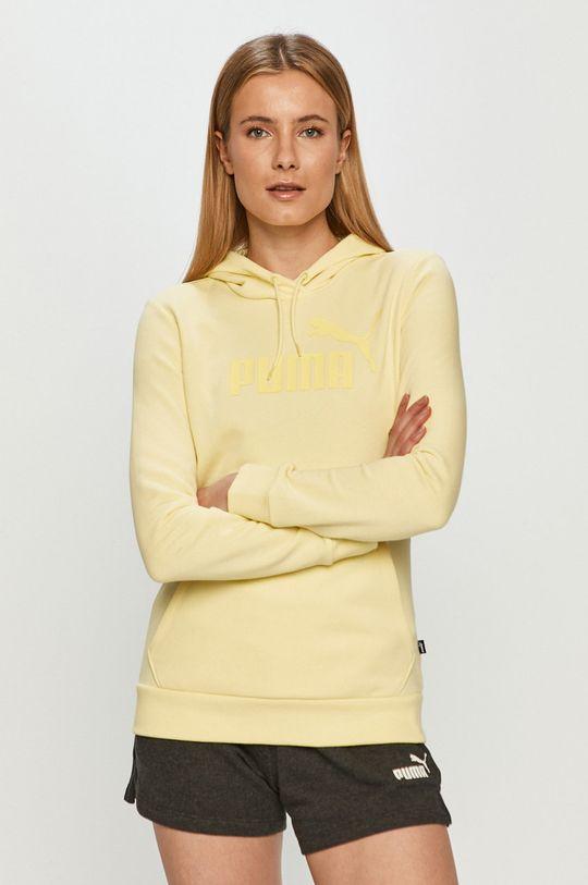 žltá Puma - Mikina Dámsky