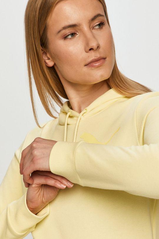žltá Puma - Mikina