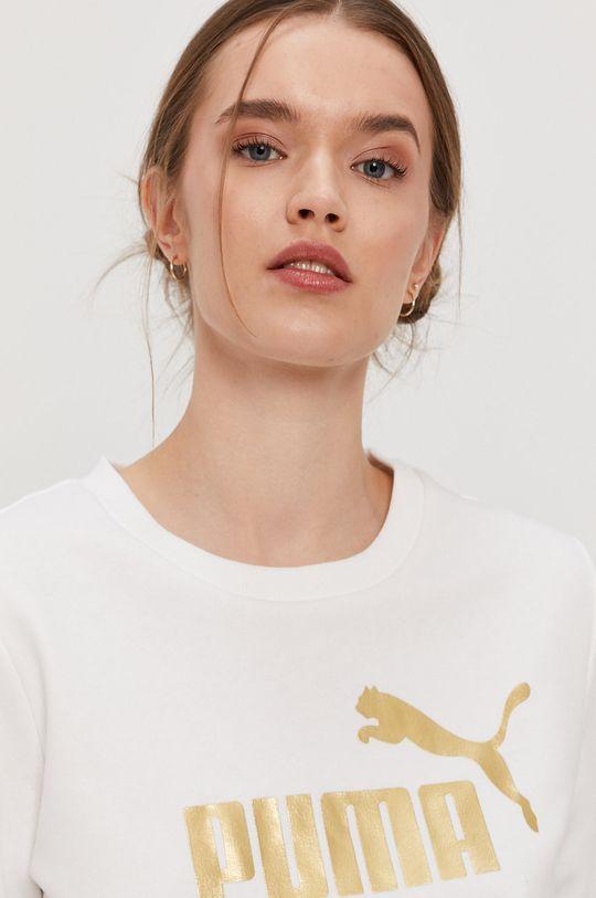 biały Puma - Bluza