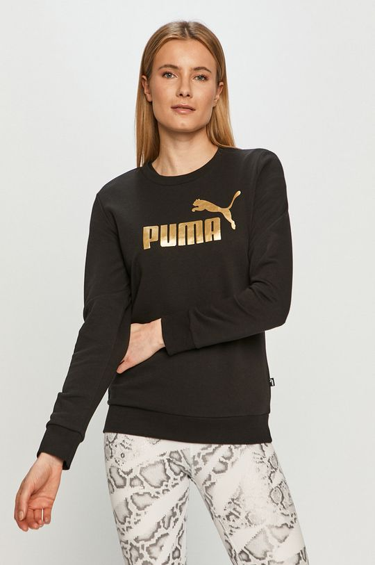 czarny Puma - Bluza Damski