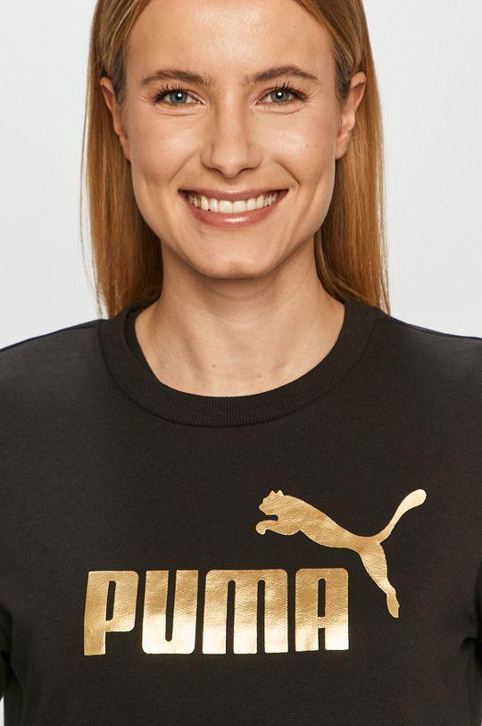 czarny Puma - Bluza