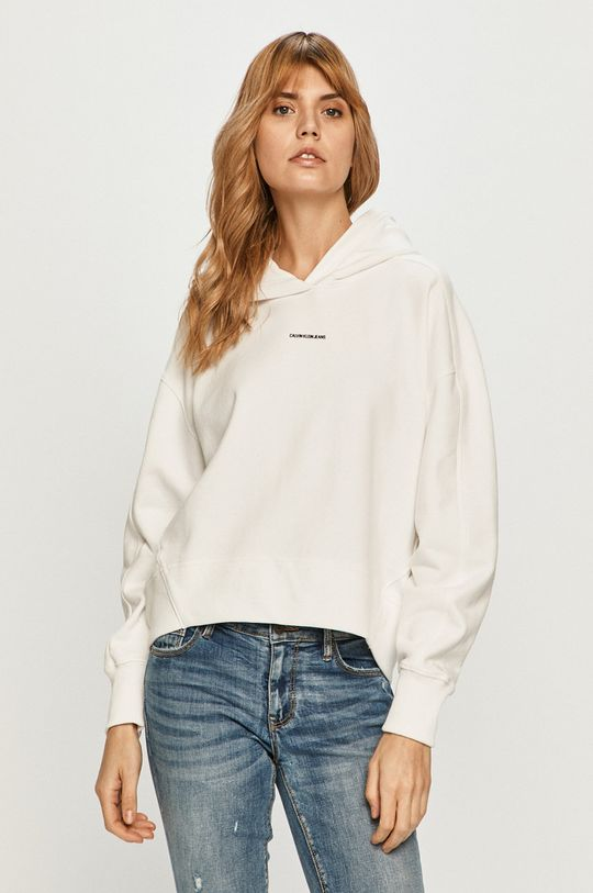 biały Calvin Klein Jeans - Bluza Damski