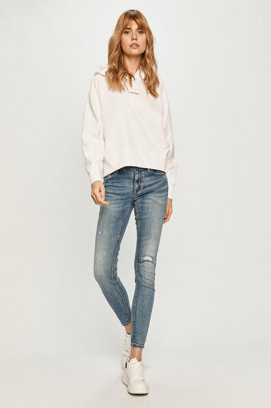 Calvin Klein Jeans - Bluza biały