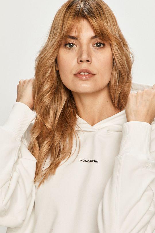 biały Calvin Klein Jeans - Bluza