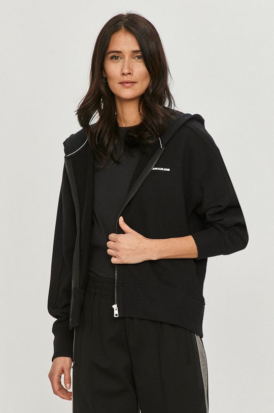 czarny Calvin Klein Jeans - Bluza Damski