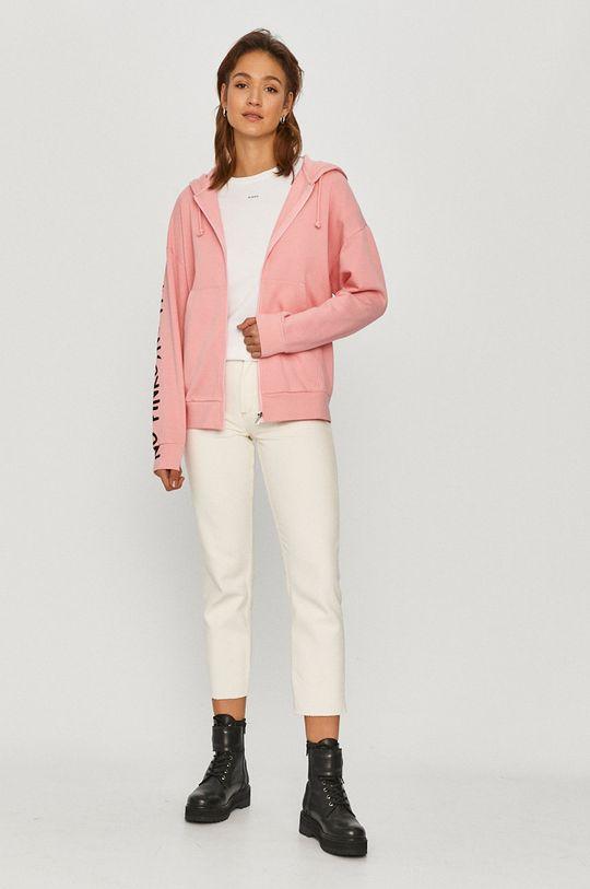 Pinko - Bluza bawełniana różowy