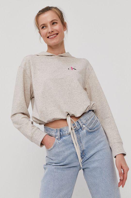 piaskowy Calvin Klein Underwear - Bluza piżamowa