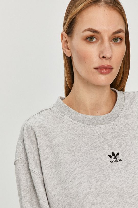 jasny szary adidas Originals - Bluza
