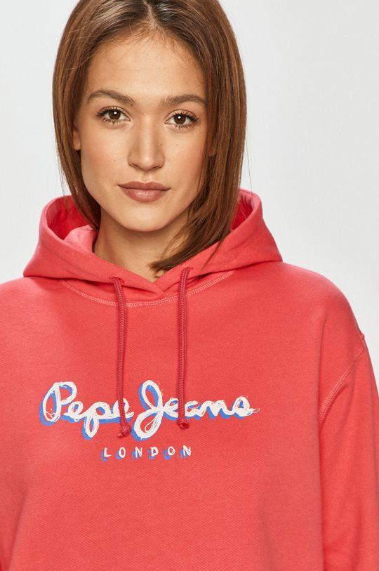 ostry różowy Pepe Jeans - Bluza Brigette