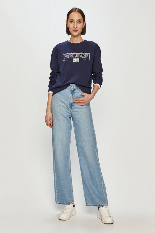Pepe Jeans - Mikina Betsy námořnická modř
