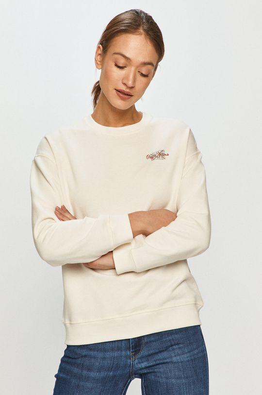 kremowy Pepe Jeans - Bluza Bonnie Damski