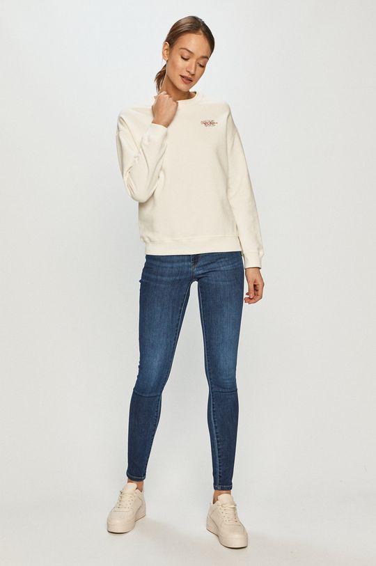 Pepe Jeans - Bluza Bonnie kremowy
