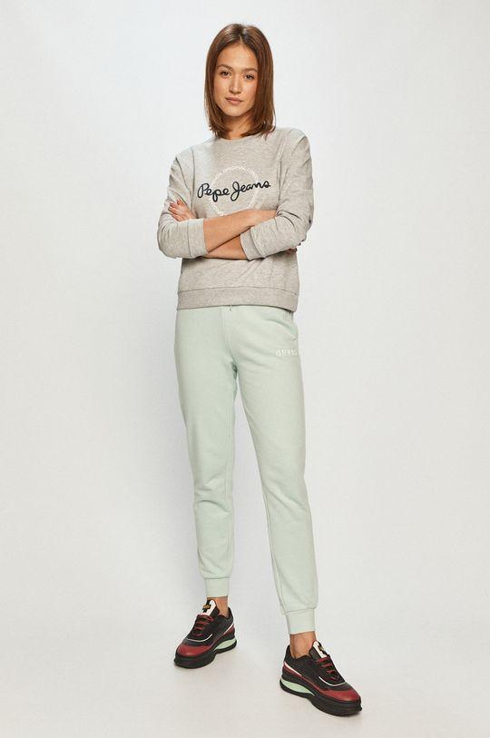 Pepe Jeans - Mikina Blanca sivá