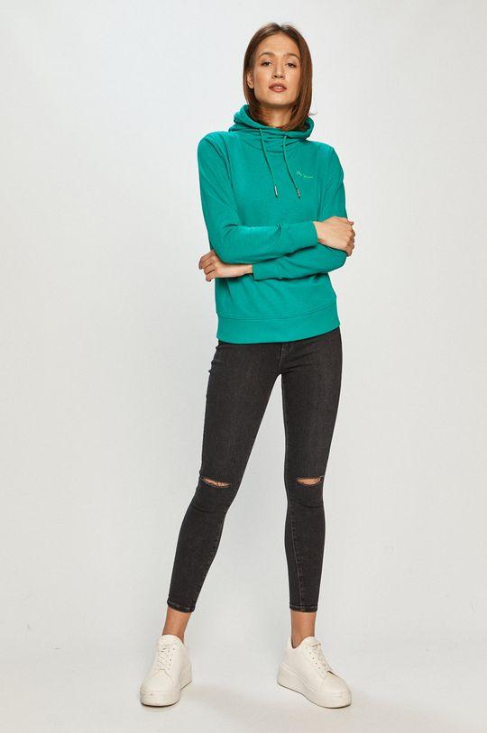 Pepe Jeans - Bluza Alicia cyraneczka